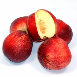 Un goût d'ici - 4 Nectarines blanches (taille moyenne)